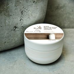 White Tree Natural body butter with milk of a donkey 200 ml